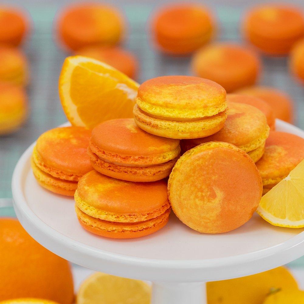 Citrus Macarons