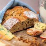 Stilton and Walnut Soda Bread