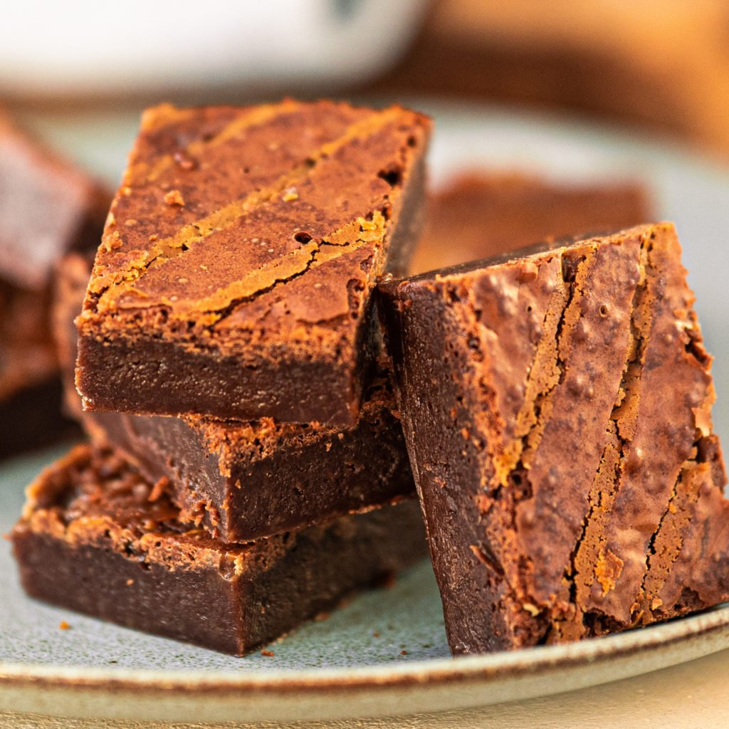 Indulge Yourself With These Rich Rum And Butterscotch Brownies