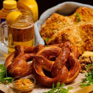 Soft Pretzels and Soda Bread